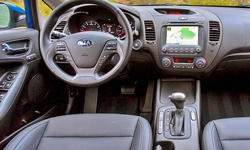Coupe Models at TrueDelta: 2016 Kia Forte interior