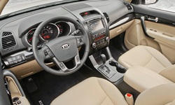SUV Models at TrueDelta: 2013 Kia Sorento interior