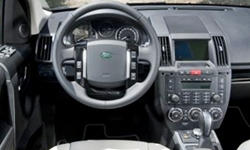 SUV Models at TrueDelta: 2015 Land Rover LR2 interior