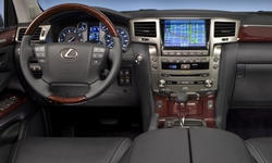 SUV Models at TrueDelta: 2015 Lexus LX interior