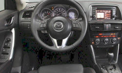 Mazda Models at TrueDelta: 2015 Mazda CX-5 interior