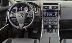Mazda Models at TrueDelta: 2015 Mazda CX-9 interior