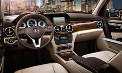 Mercedes-Benz Models at TrueDelta: 2015 Mercedes-Benz GLK interior