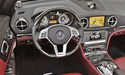 Convertible Models at TrueDelta: 2016 Mercedes-Benz SL interior