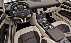 Coupe Models at TrueDelta: 2015 Mercedes-Benz SLS AMG interior