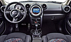 SUV Models at TrueDelta: 2016 Mini Paceman interior