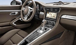 Porsche Models at TrueDelta: 2016 Porsche 911 interior