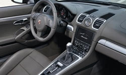 Porsche Models at TrueDelta: 2016 Porsche Cayman interior