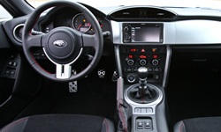 Coupe Models at TrueDelta: 2020 Subaru BRZ interior