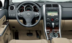 SUV Models at TrueDelta: 2013 Suzuki Grand Vitara interior