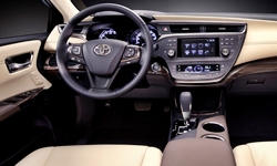 Toyota Models at TrueDelta: 2015 Toyota Avalon interior