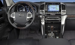 SUV Models at TrueDelta: 2015 Toyota Land Cruiser V8 interior