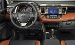 Toyota Models at TrueDelta: 2015 Toyota RAV4 interior