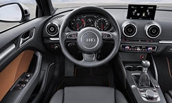 Convertible Models at TrueDelta: 2016 Audi A3 / S3 interior
