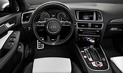 SUV Models at TrueDelta: 2017 Audi SQ5 interior