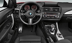 Coupe Models at TrueDelta: 2020 BMW 2-Series interior