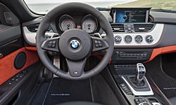 Convertible Models at TrueDelta: 2016 BMW Z4 interior