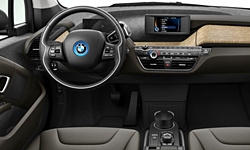 Hatch Models at TrueDelta: 2018 BMW i3 interior