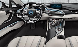 Coupe Models at TrueDelta: 2019 BMW i8 interior