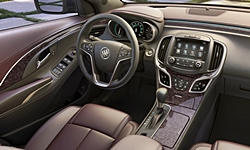 Buick Models at TrueDelta: 2016 Buick LaCrosse interior