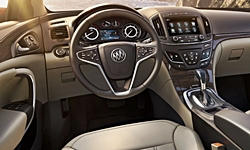 Buick Models at TrueDelta: 2017 Buick Regal interior