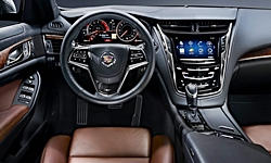 Coupe Models at TrueDelta: 2015 Cadillac CTS interior