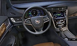 Coupe Models at TrueDelta: 2016 Cadillac ELR interior