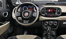 Hatch Models at TrueDelta: 2018 Fiat 500L interior