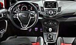 Hatch Models at TrueDelta: 2018 Ford Fiesta interior