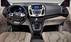 Ford Models at TrueDelta: 2017 Ford Transit Connect interior