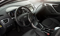 Coupe Models at TrueDelta: 2014 Hyundai Elantra interior