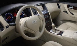 SUV Models at TrueDelta: 2017 Infiniti QX50 interior