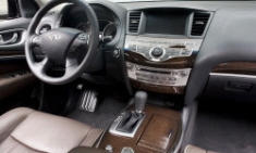 SUV Models at TrueDelta: 2015 Infiniti QX60 interior