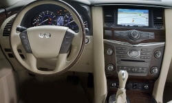 SUV Models at TrueDelta: 2014 Infiniti QX80 interior