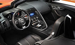 Convertible Models at TrueDelta: 2020 Jaguar F-Type interior