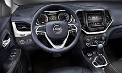 Jeep Models at TrueDelta: 2016 Jeep Cherokee interior
