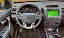 SUV Models at TrueDelta: 2015 Kia Sorento interior