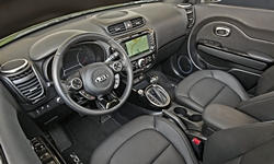 Hatch Models at TrueDelta: 2018 Kia Soul interior