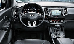 SUV Models at TrueDelta: 2016 Kia Sportage interior