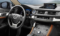 Lexus Models at TrueDelta: 2017 Lexus CT interior