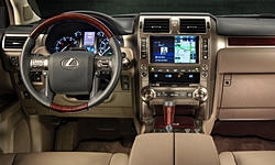 SUV Models at TrueDelta: 2019 Lexus GX interior
