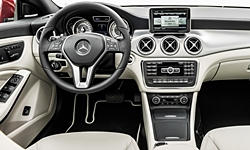 Mercedes-Benz Models at TrueDelta: 2016 Mercedes-Benz CLA interior
