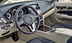 Coupe Models at TrueDelta: 2017 Mercedes-Benz E-Class (2-door) interior
