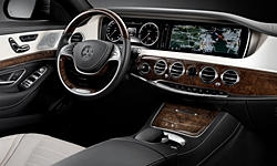 Coupe Models at TrueDelta: 2017 Mercedes-Benz S-Class interior
