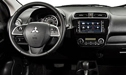 Hatch Models at TrueDelta: 2015 Mitsubishi Mirage interior