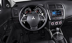SUV Models at TrueDelta: 2015 Mitsubishi Outlander Sport interior