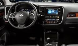 SUV Models at TrueDelta: 2015 Mitsubishi Outlander interior