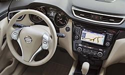 Nissan Models at TrueDelta: 2016 Nissan Rogue interior