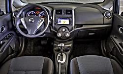 Nissan Models at TrueDelta: 2016 Nissan Versa Note interior
