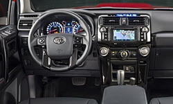 Toyota Models at TrueDelta: 2016 Toyota 4Runner interior